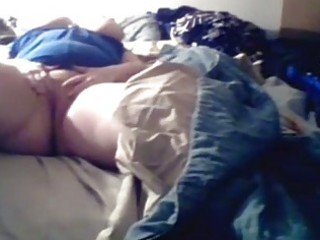 cam bbw lady pleases on cam!