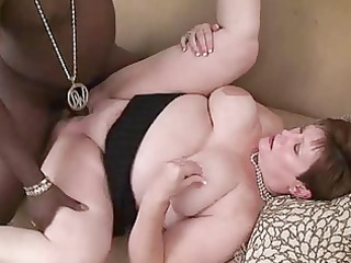 bbw milf june obtaining on a bbc