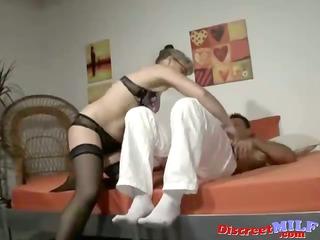 cougar european lady enjoys to fuck hard