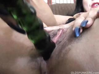 older  fresh has a large orgasm