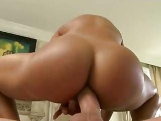 huge boob older  milf line anns massage turns arse