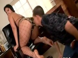 milf with legs fetish obtains her kitty tasted