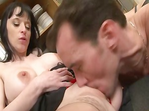 big boobed french angel gang-banged uneasy inside