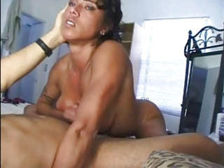muscle mature babe handjob
