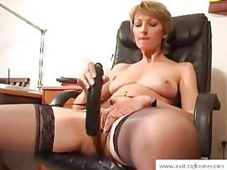 mature stella inside her homemade masturbation