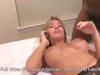 sexy blond woman mixed young three people