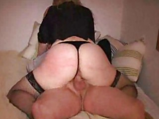 big anal blonde lady bangs inside fuck swing