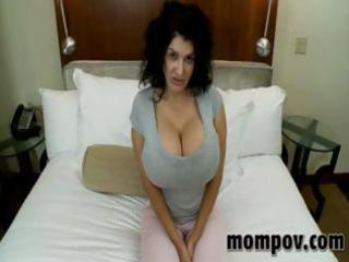 lovely milf fuckhuge boobs!