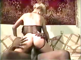 bleached lady black penis
