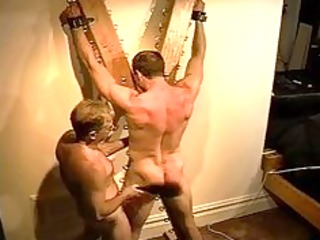 big bodybuilders muscle butt gets an anal whuppin