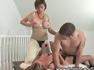 cougar femdom like fuck threesome